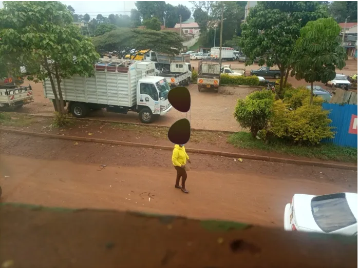 PHOTO of CAROLINE KANGOGO heading to her parents' home (Last moments) before suicide emerge.