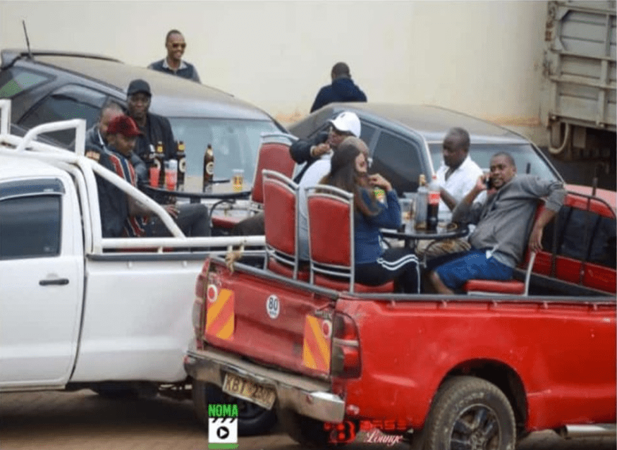 Kenyans now transforming pickups into bars (PHOTO).Never a Dull Moment