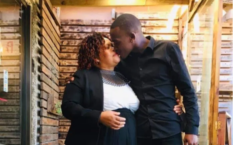 Young man has falls in love with woman old enough to be his mother (PHOTOs)