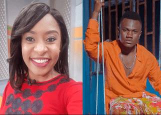 Anchor, MASHIRIMA KAPOMBE, openly salivates on Bongo singer MBOSSO –VIDEO