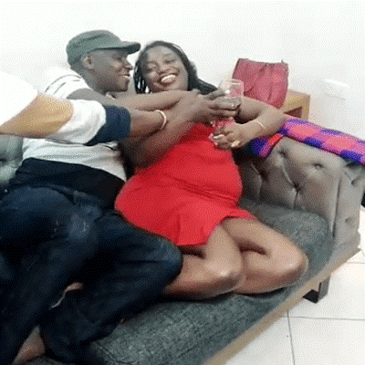 Shame! Kenyan Lady recorded being chewed by 3 men in Eldoret goofs around with her husband (PHOTOs)