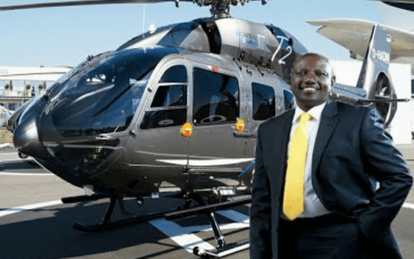 Deputy president RUTO instructs his aides to prepare his H145 Helicopter to fly him to Uganda