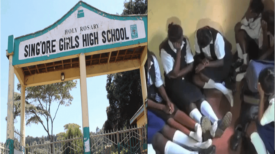 Female Students caught in the Act in school Dormitory-Dry spell is Real