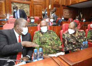 DP Ruto is Protected by 257 Police Officers, The Most in History of DP,Matiang'i Spills The Beans