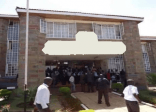 A Kenyan was rescued from angry residents after she was found engaging in sexual act with a form three student in the school teachers quarters.