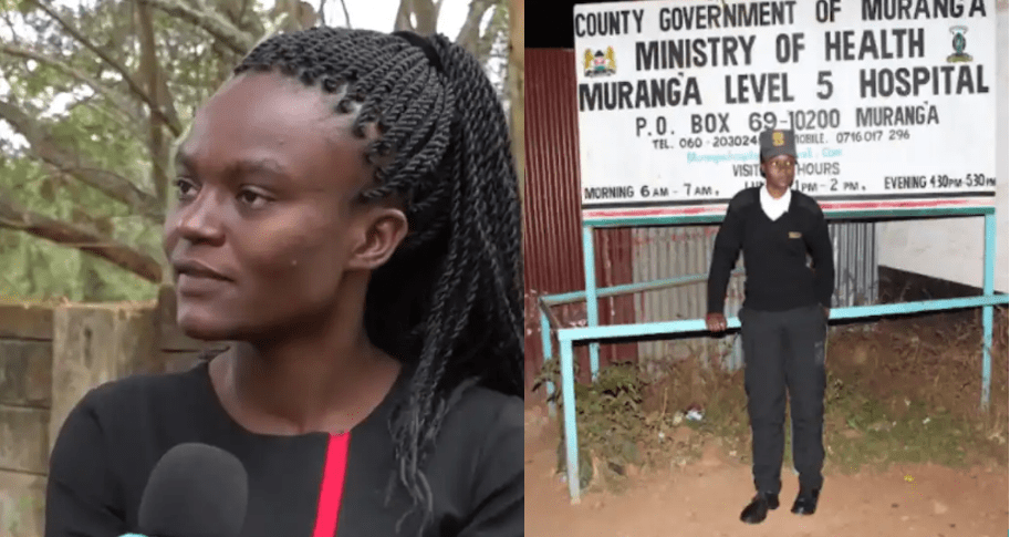 Murang'a University Female Student Works as Mama Fua, Security Guard to Pay fees