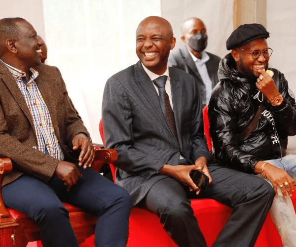 Drama as Murang'a Senator, IRUNGU KANG'ATA, joins Senate session from Sabina Joy brothel in Nairobi – He was drunk like a skunk (VIDEO)