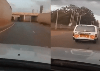 """""""UJALUO Itawamaliza"""" LUO man celebrates after Government increased fuel prices – I can now drive smoothly, barabara sasa ni nyweeeeee!!!(VIDEO)."""