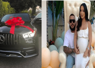 Husband Surprises Wife With Mercedes Benz Day Before She Gives Birth