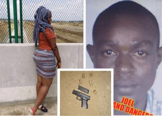 The man who shot his girlfriend 6 times in Mukuru Slums killed by detectives after a robbery attempt in Embakasi (PHOTOs).
