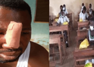 Daylight Drama as Maths Teacher is Beaten Like a Dog By His Form Four Students