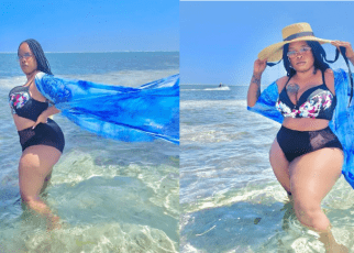 See these edited photos of Bridget Achieng then Compare With the leaked Nude video (Link)