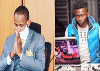 Babu Owino Tribute's To DJ Evolve After Losing His Mother