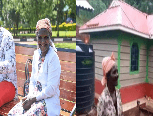 Viral Granny Elated after Ruto Builds her a New House-Murang'a Gikandu,