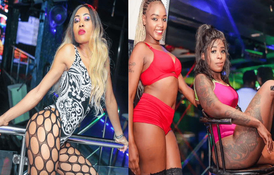 PHOTOs from XS Millionaire strip Club that will make some parents collapse - Do you know what your daughters are doing in Nairobi?