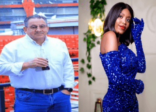 Hot Kamba lady who 'snatched' Rich Coca-Cola Africa boss from his wife – was his ex-wife's makeup artist during their wedding.