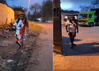 """Newest Blogger in Town""""Sonko Reduced to a Rastafarian"""" See What He Was Spotted Doing in the Streets (VIDEO)"""