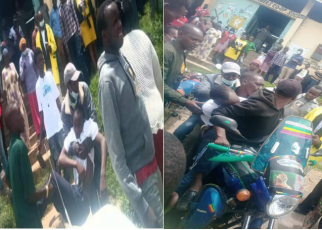 Secondary Student Causes 'Drama in Kabarnet Town After he drunk himself beyond recognition hours after breaking for holiday