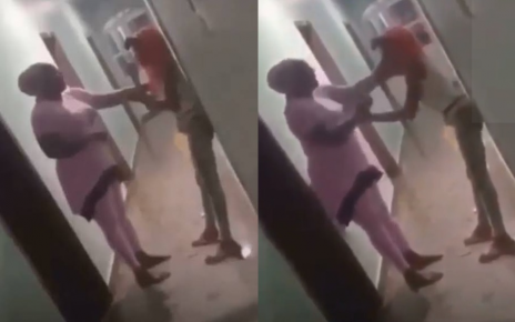 DRAMA as mother catches her daughter having SEX with a SPONSOR in a lodging (VIDEO)