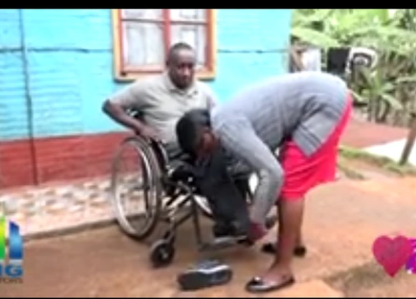 'She Bathes Me, Changes My Diapers,'Popular 'Maina Wa Farm 'Narrates-Life after the Accident