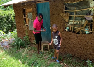 Despite living a lavish life in the city, OWAGO NYIRO's HOUSE in the village looks like a rat's nest (PHOTOs)