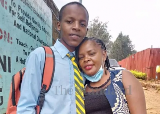 Photo of the boy killed after sneaking into girls dormitory in Kiambu, mother speaks on the tragic incident.