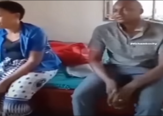Drama as a man catches his wife with his friend in bed and tells him to pay him Ksh 240,000 and take her (VIDEO).