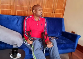 Watch Moses Kuria walking unaided after accident for the first Time[Video]
