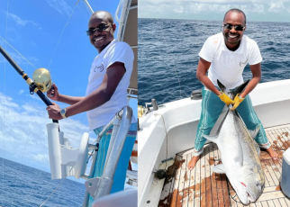 The son of Covid billionaire, DAVID MURATHE, balling hard over the weekend in Watamu as some of you sleep hungry (PHOTOs & VIDEO).