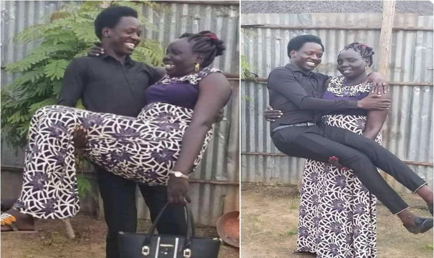 Just like GUARDIAN ANGEL, this young man has fallen in love with his 'Mother'(PHOTOs).