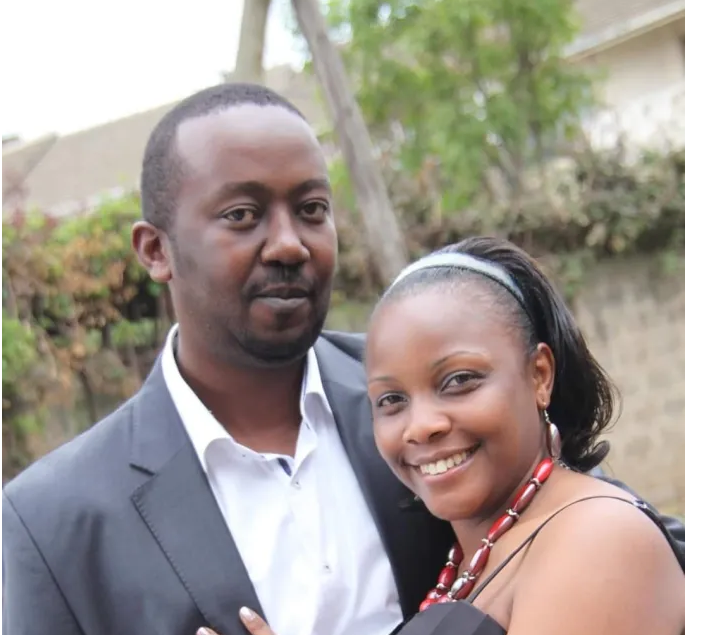 Here's the woman who broke ANDREW KIBE's heart – They even got married in church