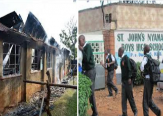 Nyamagwa boys closed after dormitory fire, Watchman Arrested